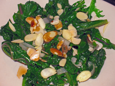 Wilted Mustard Greens