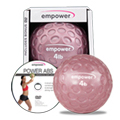 Empower Fitness 4lb Fingertip Grip Medicine Ball