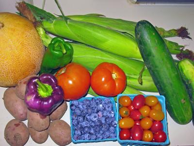 Year 2 Week 8 Veggie Box