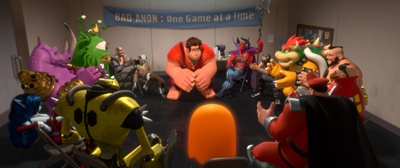 Wreck-It Ralph: Bad Anon meeting