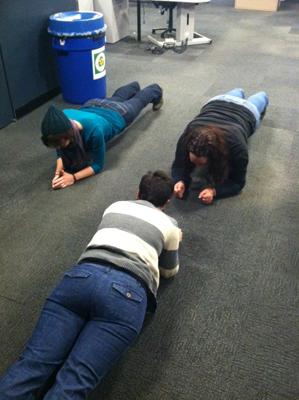 Planking at RadioBDC