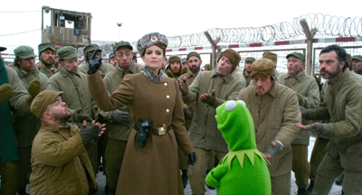 Nadya and Kermit in the gulag