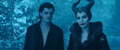 Diaval and Maleficent