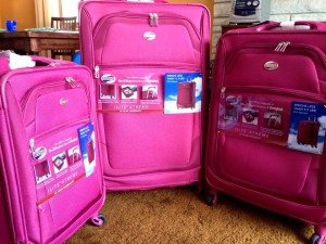 My new American Tourister luggage!