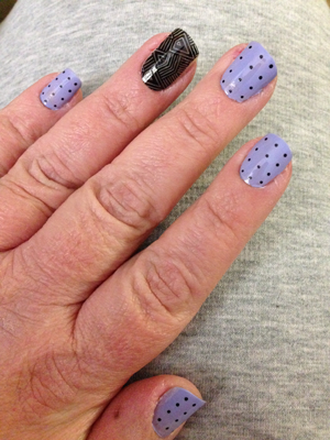 """Jamberry vs OPI's """"You're Such a Budapest"""""""