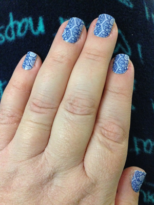 "Jamberry ""Porcelain"" jamicure"