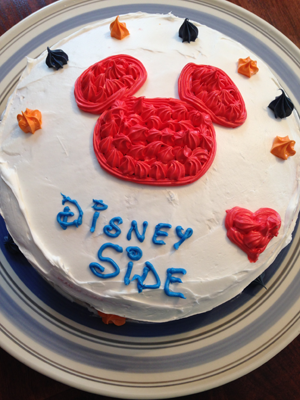 Our DisneySide cake!