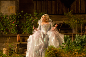 Helena Bonham Carter as the Fairy Godmother