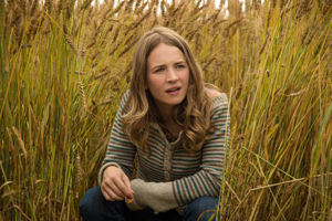 Casey in the wheat field