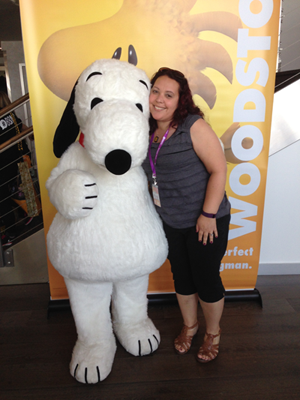 Snoopy and me