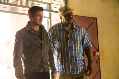 William Brandt, played by Jeremy Renner, and Luther Stickell, played by Ving Rhames