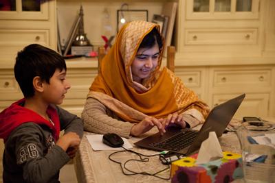 Atal and Malala Yousafzai