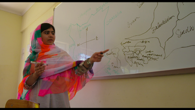 Malala explains where she grew up