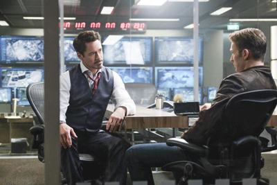 Tony Stark and Steve Rogers